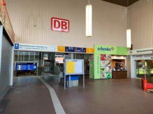 Altes Bahnhofsgebäude in Paderborn